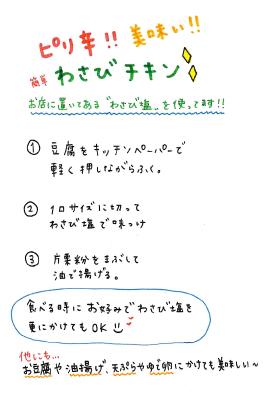 山葵チキン